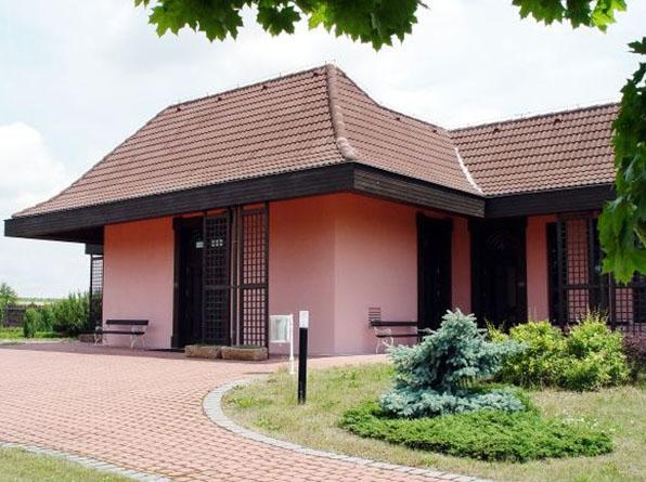 Vysočanské zahrady - Trauersaal